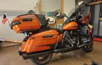 waloupis's 2020 FLTRG - ROAD GLIDE LIMITED (SCORCHED ORANGE - SILVER FLUX)